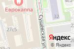 Схема проезда до компании Спорт-бар на Сущёвской в Москве