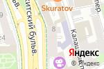 Схема проезда до компании Tehdiz в Москве