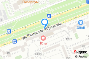 Однокомнатная квартира в Москве Римского-Корсакова