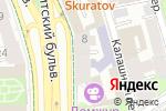 Схема проезда до компании АИКБ Татфондбанк в Москве