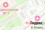 Схема проезда до компании Инженерная служба Донского района в Москве