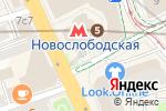 Схема проезда до компании Бронницкий Ювелир в Москве