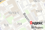 Схема проезда до компании УК СовПромСнаб в Москве