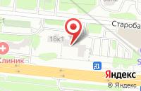 Схема проезда до компании Новый Город в Москве
