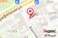 Схема проезда до компании Культурно-Просветительный Центр «Галерея-Дом Нащокина» в Москве