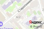 Схема проезда до компании Bling Blings в Москве