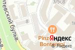 Схема проезда до компании STATURA в Москве