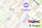 Схема проезда до компании Империя Звезд в Москве