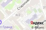 Схема проезда до компании Birdie в Москве