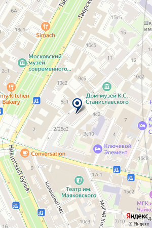 ИНВЕСТИЦИОННАЯ КОМПАНИЯ ВЕГА-РИЭЛТИ на карте Москвы