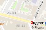 Схема проезда до компании Большая Никитская 24 в Москве
