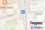 Схема проезда до компании Копирка в Москве