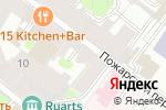 Схема проезда до компании Право.ру в Москве