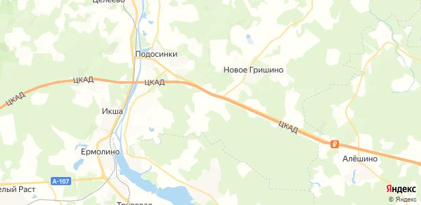 Селевкино на карте
