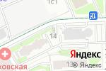 Схема проезда до компании Pandoramarket в Москве