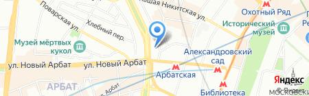 ДомЖур на карте Москвы