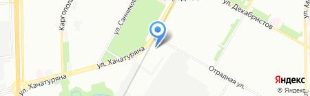 РЕГАН на карте Москвы