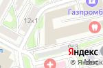Схема проезда до компании Техно-траффик в Москве