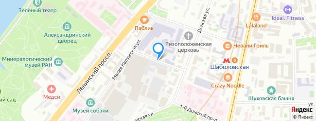 Малый Калужский переулок