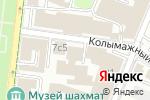 Схема проезда до компании МосРентгенЦентр в Москве