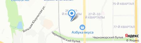 Профдекор на карте Москвы