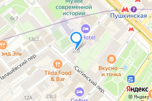 Сдается однокомнатная квартира в Москве Малый Палашёвский переулок, 2\u002F8