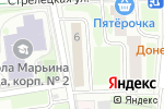 Схема проезда до компании Сеть мастерских по ремонту детских товаров в Москве