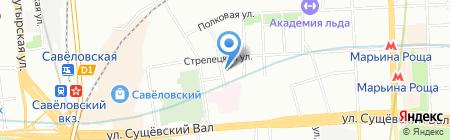 СпецКровМонтаж на карте Москвы