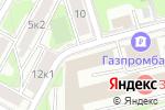 Схема проезда до компании Пасифик Сифуд в Москве