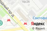 Схема проезда до компании Ваш надежный бухгалтер в Москве