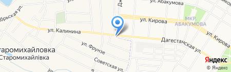 Радуга многопрофильный магазин на карте Старомихайловки
