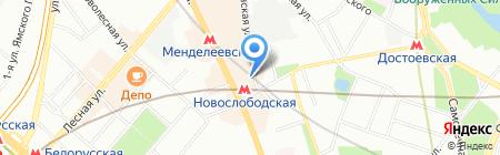 ECCO на карте Москвы