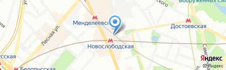 Langery на карте Москвы