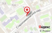 Схема проезда до компании Город Цвета в Москве