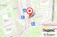 Схема проезда до компании Кроха в Москве