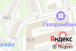 Схема проезда до компании ФИНИНСТРОЙ в Москве