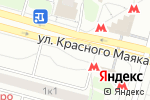 Схема проезда до компании Красный Маяк в Москве