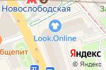 Схема проезда до компании Морской берег в Москве