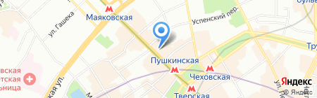 Business Connection на карте Москвы