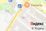 Схема проезда до компании М-компани в Москве