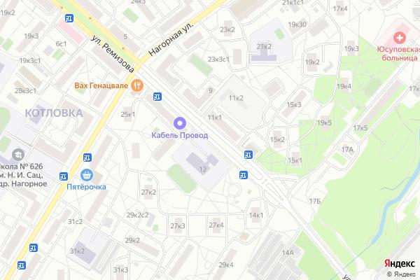 Ремонт телевизоров Улица Ремизова на яндекс карте