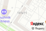 Схема проезда до компании Опла в Москве