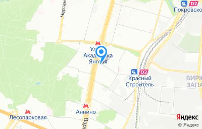 Местоположение на карте пункта техосмотра по адресу г Москва, ул Газопровод, д 2А
