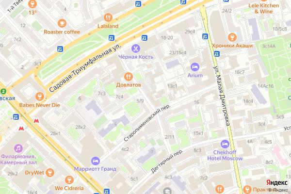 Ремонт телевизоров Воротниковский переулок на яндекс карте