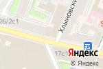 Схема проезда до компании Апельсин на Арбатской в Москве
