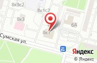 Схема проезда до компании Ситэк Капиталл Групп в Москве