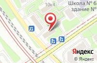 Схема проезда до компании Система-В в Москве