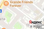 Схема проезда до компании Relax Massage в Москве