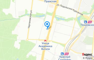 Местоположение на карте пункта техосмотра по адресу г Москва, ш Варшавское, д 150