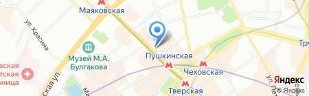 Адвентус Тур на карте Москвы